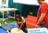 Aula de PCR aos alunos dos cursos da área de saúde do UNIFSJ