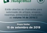 Edital Transformar 2019/2