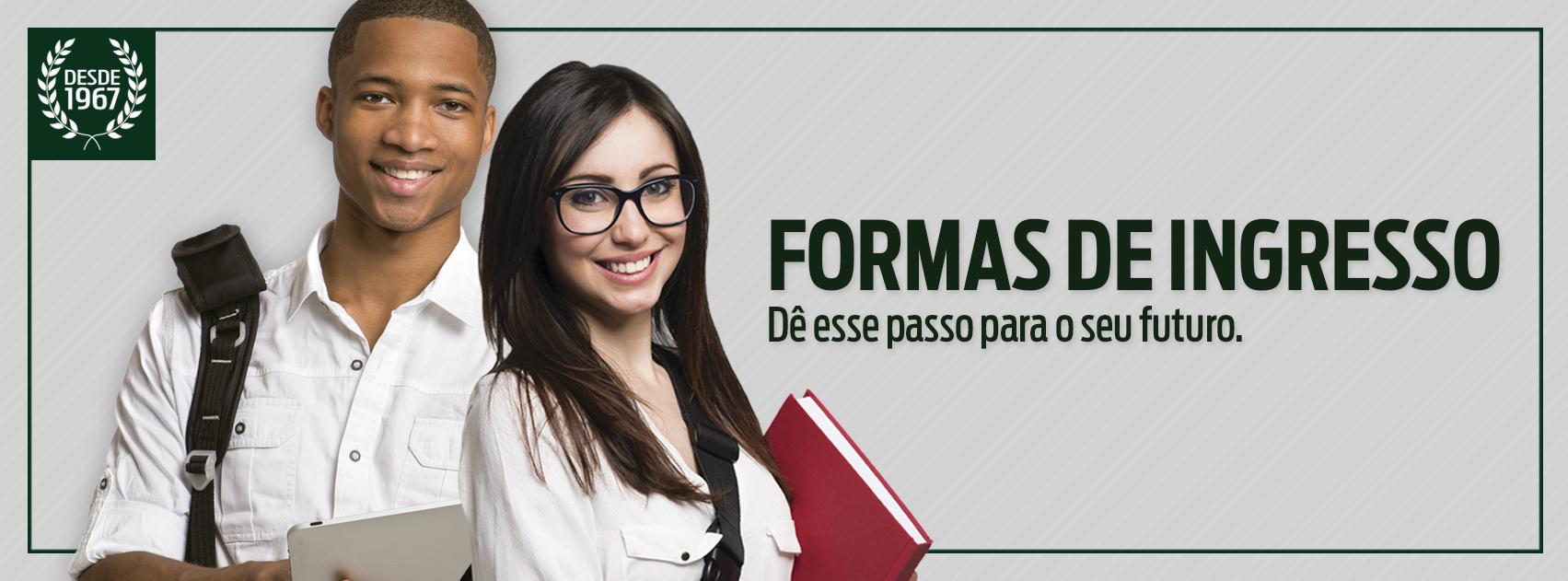 Imagem Formas de Ingresso