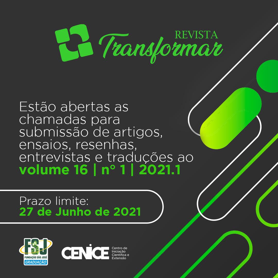 Imagem Edital Transformar 2021.1
