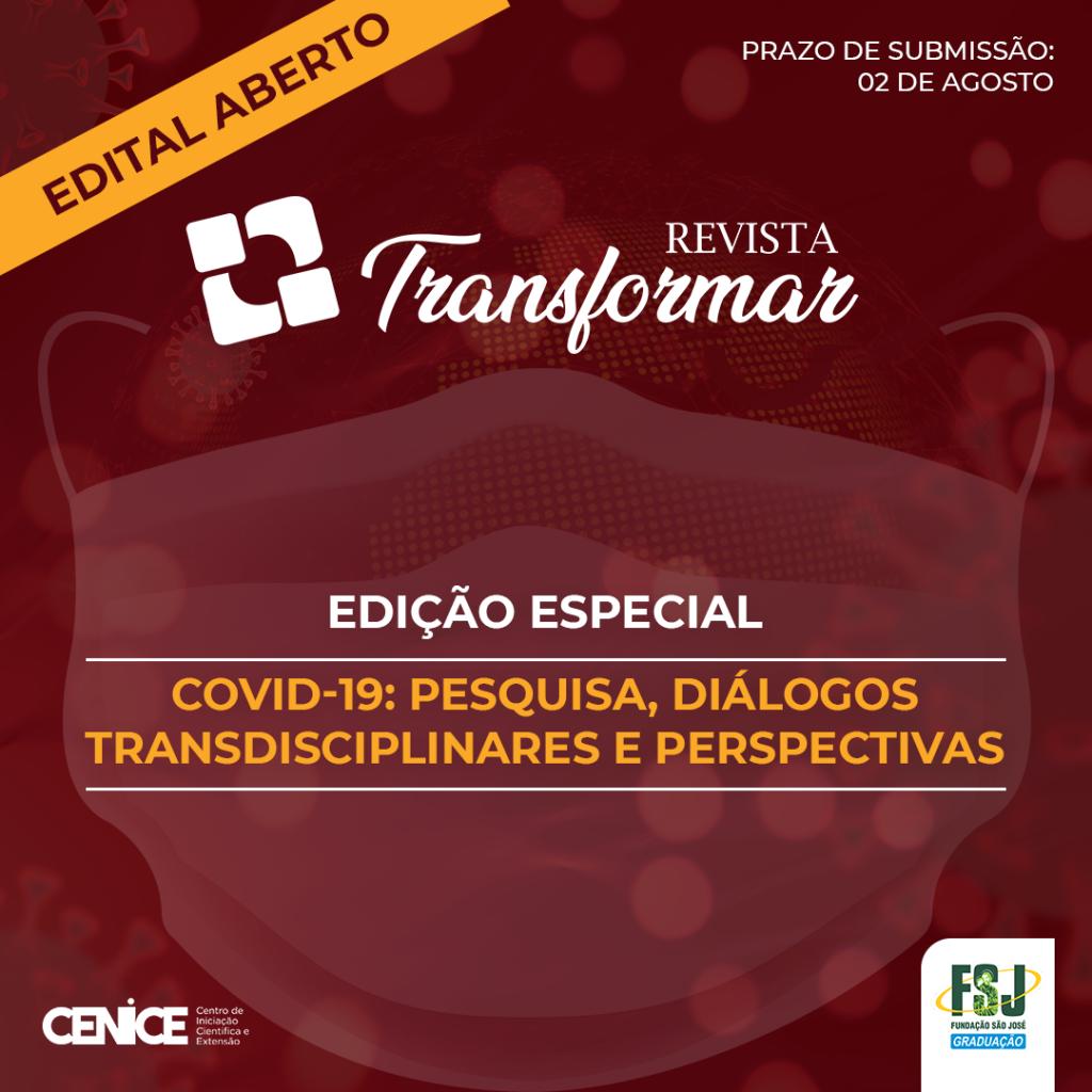 Edital Transformar 2020/1 – Edição Especial