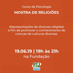 Mostra de Religiões