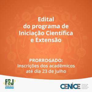 Programa de Iniciação Científica e Extensão 3