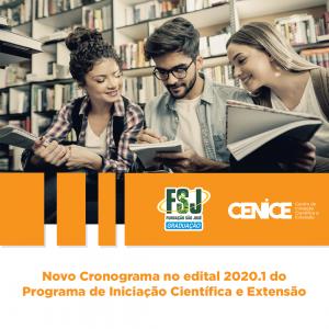 Programa de Iniciação Científica e Extensão - Edital 2020.1 (Novo)