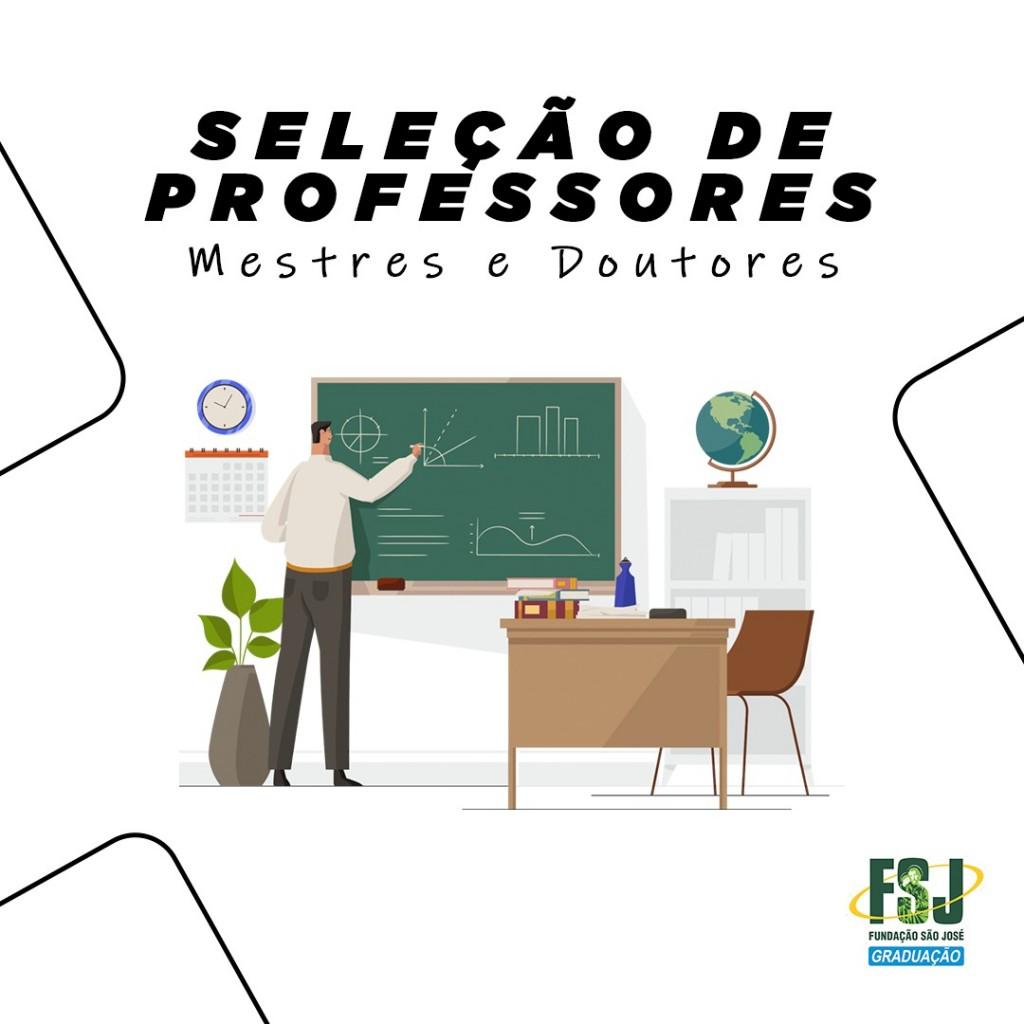 Edital 1/2020 Seleção de Professores